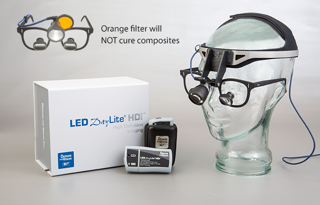 Led Daylite Hdi Dental Headlight With Patent Pending High