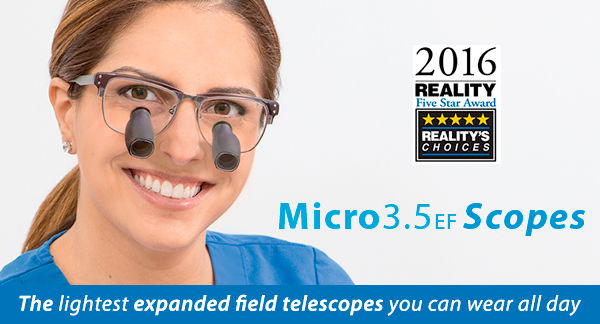 Micro3.5EF Scopes with Reality 5 Star Award